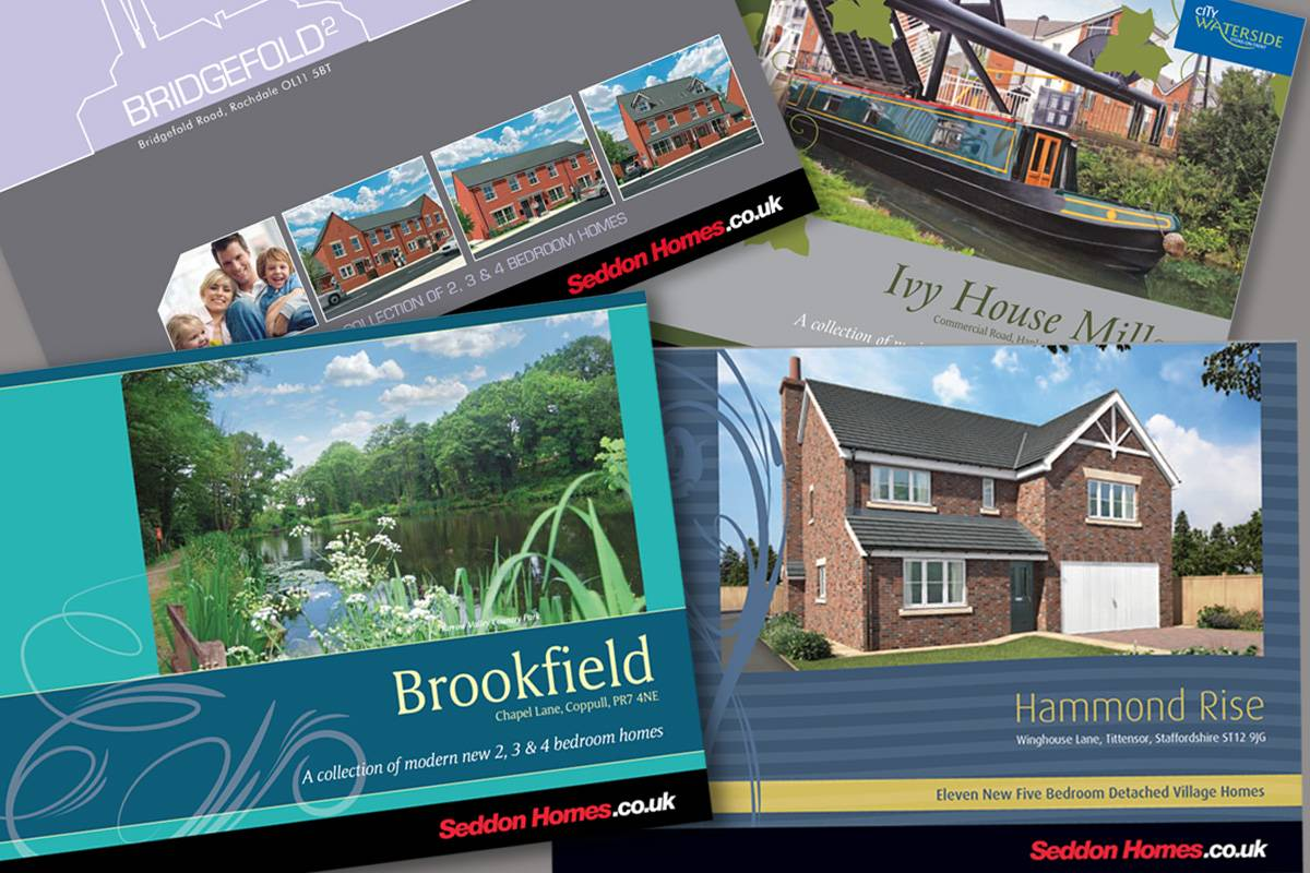 Brochures for Seddon Homes